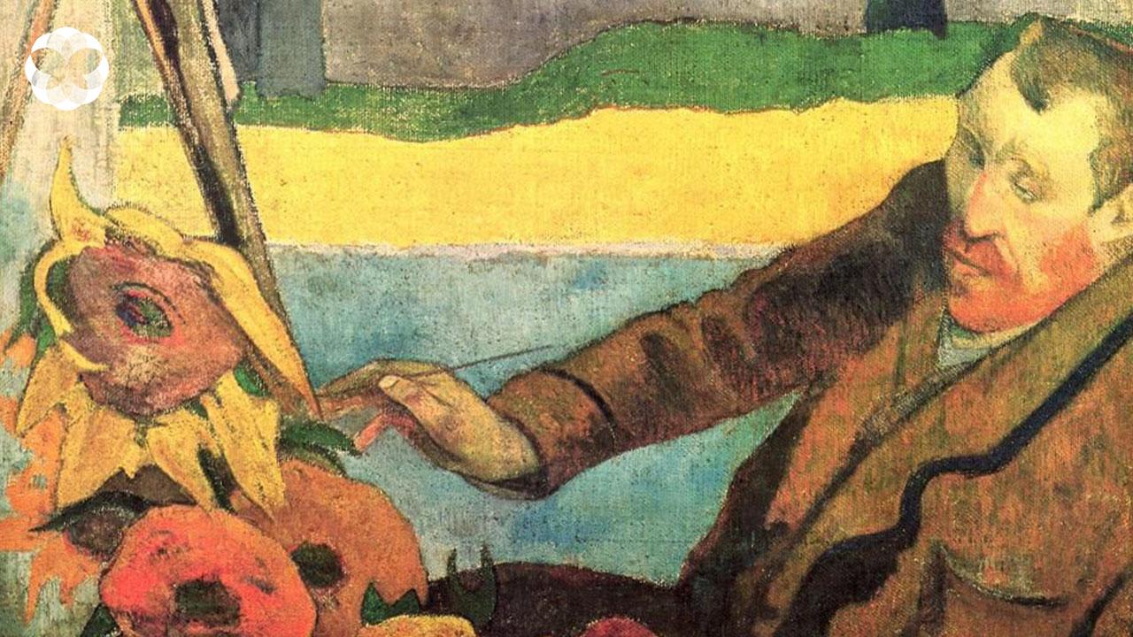 ดอกทานตะวันที่เบ่งบานในช่วงชีวิตแห่งความสุขของแวนโก๊ะ