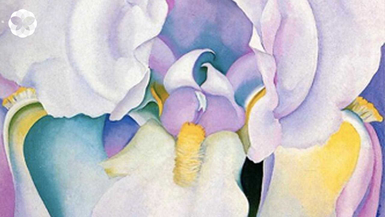 ภาพดอกไม้ระยะใกล้ของ 'จอร์เจีย โอคีฟ' ที่ถูกตีความว่า 'เย้ายวนเพศ'
