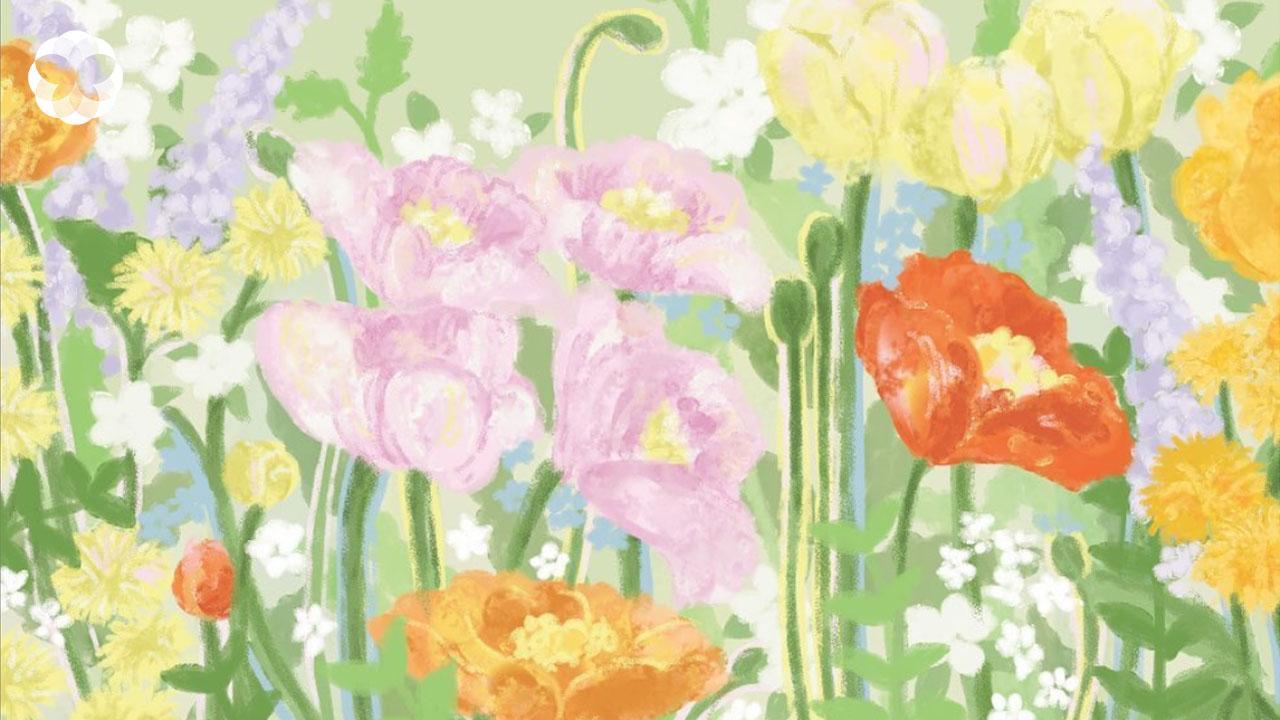'ดอกศิลป์' ของ 4 ศิลปินไทยที่ส่งต่อความชื่นใจและชวนฉุกคิดเมื่อมอง