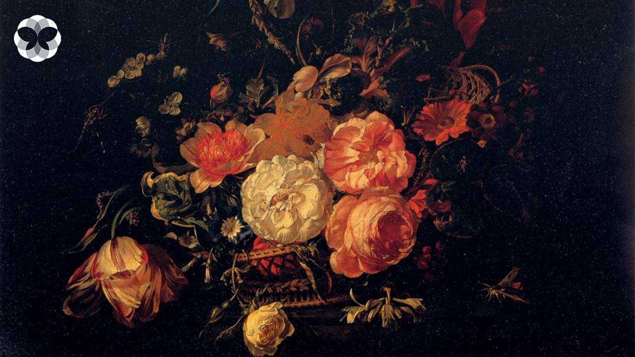 ดอกไม้ไร้สมมาตร จากปลายพู่กัน 'ราเชล รุสช์' ศิลปินชาวดัตช์สู่ภาพวาดดอกไม้แหวกขนบศิลปะ