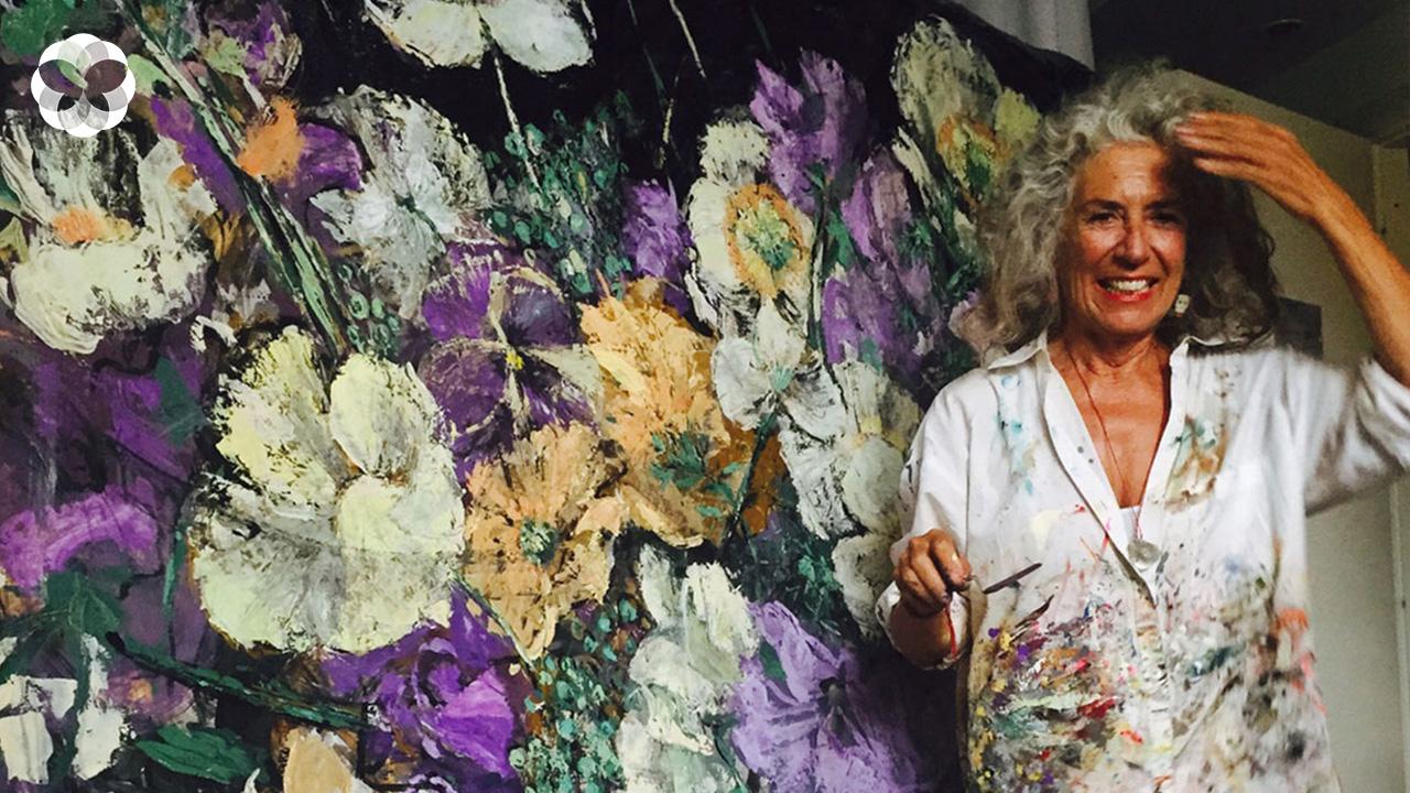 """""""ดอกไม้สื่อสารได้กับทุกคน"""" รู้จัก Arianna Caroliจิตกรผู้ถ่ายทอดพลังแห่งดอกไม้สู่งานศิลป์"""